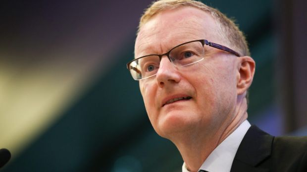 Philip Lowe, governor of the Reserve Bank of Australia. While the RBA is growing confident the economy is on the right ...