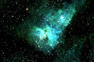 The Eta Carinae Nebula, Dr Wolf's favourite item in the southern sky. It includes a star that was one of the brightest ...