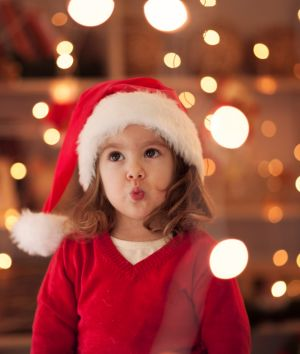 """""""It's easy to get carried away at Christmas, particularly when you have children."""""""