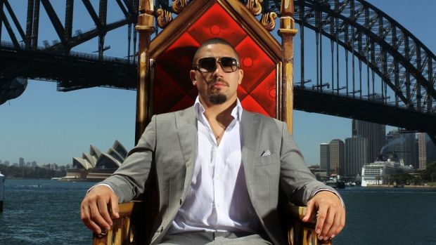 King of the middleweights: Whittaker will watch from his throne as an interim goes on offer.