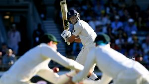 The moment: On a day which England dominated, Australia still had their chances - especially when dropping Dawid Malan ...