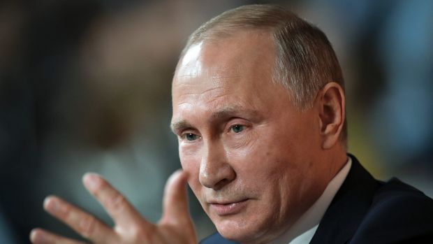 Vladimir Putin revealed that he calls Donald Trump by his first name.