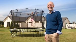 Keith Alexander invented the Springfree trampoline that eliminated impact areas that can cause injuries.