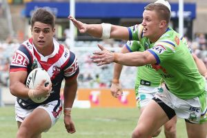 Sacked: Jayden Nikorima's contract has been terminated after registering a second failed drugs test.