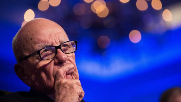 Rupert Murdoch had built an empire by divining where media was headed, and the landscape ahead troubled him, sources said.