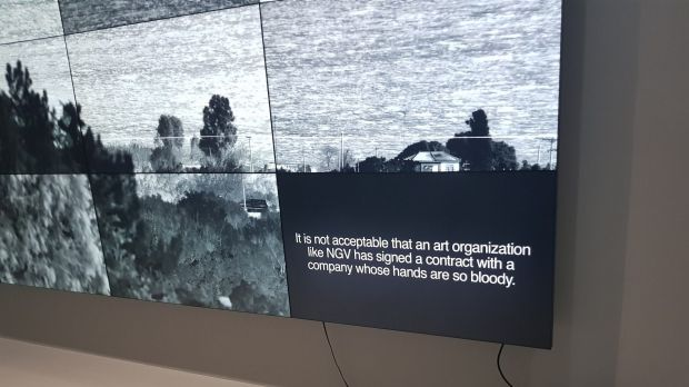 Richard Mosse's Incoming was updated to include commentary from former Manus Island detainee Behrouz Boochani about ...