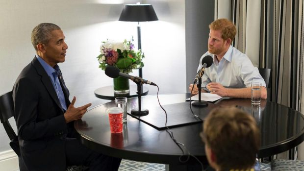 Prince Harry interviewed Obama during the Invictus Games in Canada in September.