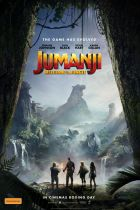 Jumanji Welcome to the Jungle poster.