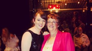 Cheryl Taylor pictured with her daughter Melissa.