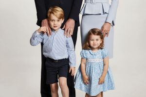 Prince William, Kate, and their children Prince George and Princess Charlotte.