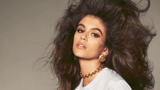 Kaia Gerber is designing a collection for Karl Lagerfeld