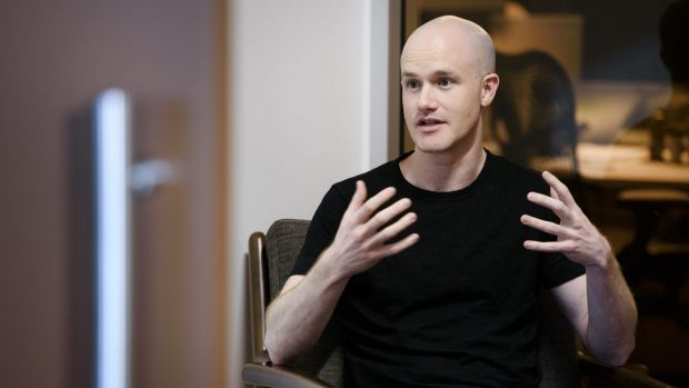 Coinbase co-founder and chief executive Brian Armstrong.