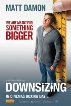 Downsizing film poster.