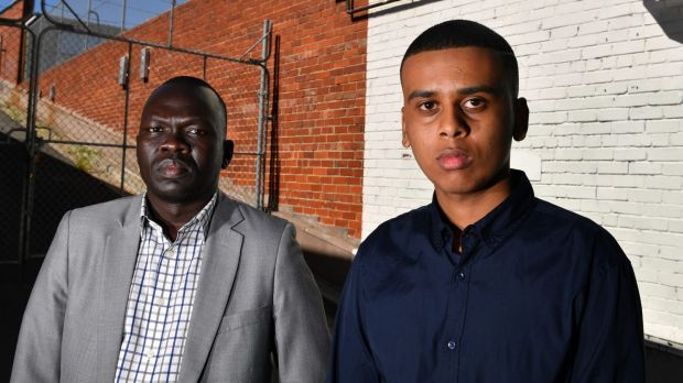 Richard Deng (left) and Ahmed Hassan believe repeat offenders are falling through the cracks.