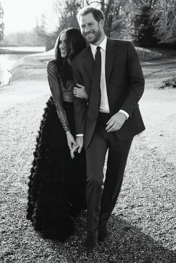 December: Just when we were begging for 2017 to be over, Meghan Markle and Prince Harry announced their engagement and ...