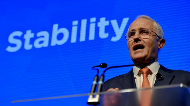 Prime Minister Malcolm Turnbull enters 2018 in a strong position.