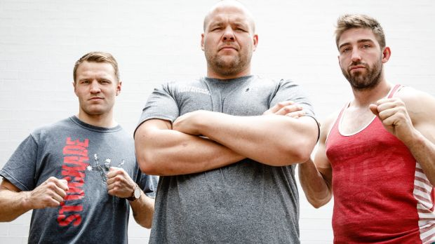 Boxer Dave Toussaint and mixed martial arts fighters Ben Edwards and Duke Didier are the three men at the top of the ...