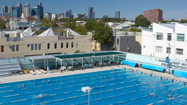 Melbourne's Fitzroy Pool is a much-loved outdoor swimming spot in summer.