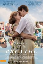 Poster for the movie Breathe, starring Andrew Garfield and Claire Foy