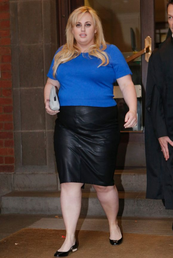 May: Actress Rebel Wilson was dressed for business for her historic defamation case against Bauer Media. Wilson's ...