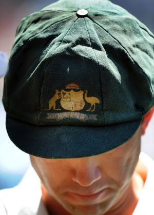 Ricky Ponting's Baggy Green was always a tired looking one.