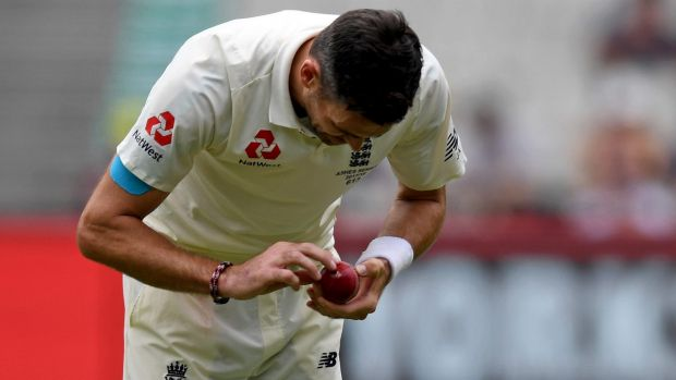 England reacted angrily to ball-tampering allegations against James Anderson.