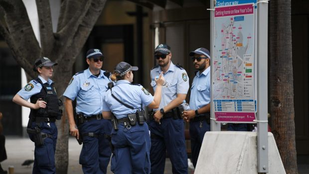 Police will be out in force at Circular Quay on Australia Day.