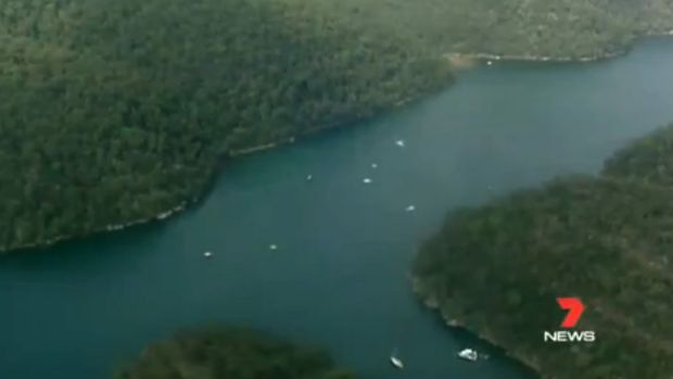 A search is under way for a sea plane that is believed to have crashed in Sydney's north.