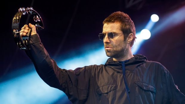 Ever the rock star, former Oasis frontman Liam Gallagher constantly checked in with the sound desk, playfully heckled a ...