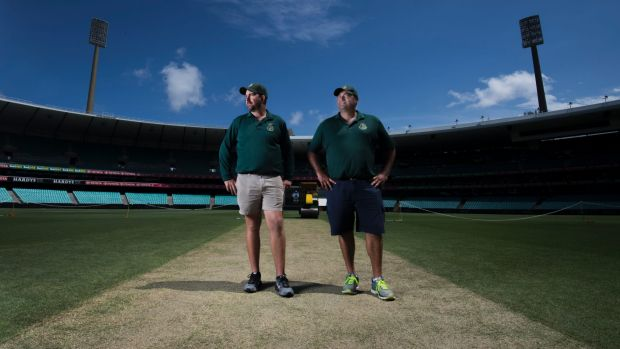 Adam Lewis and Justin Groves are looking forward to the start of the fifth Ashes Test.