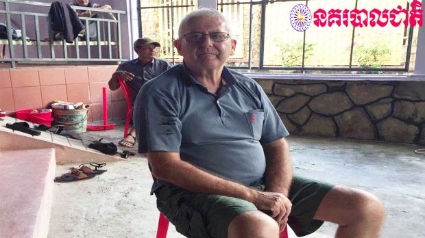James Bernard King, 69, has been arrested in Cambodia for allegedly locking up his girlfriend and demanding sex from her ...
