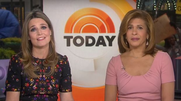 Hoda Kotb and Savannah Guthrie become the first pair of women to host NBC's Today show.