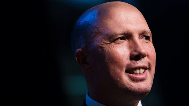 Minister for Immigration and Border Protection, Peter Dutton MP speaks at the launch of the AFR Magazine Power issue.