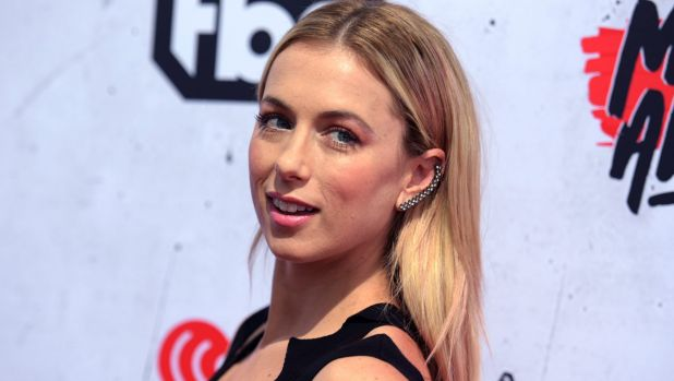Comedian and performer, Iliza Shlesinger, who was hosting the event.