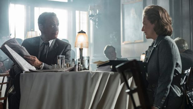 Tom Hanks  and Meryl Streep star in newspaper drama <i>The Post</i>.