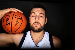 Basketball star Andrew Bogut.