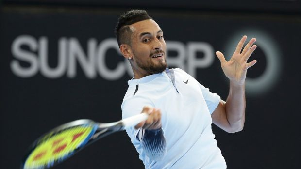 Nick Kyrgios is in good form ahead of the Australian Open.
