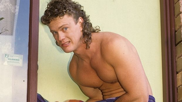 Craig McLachlan as Henry Ramsey in Neighbours.