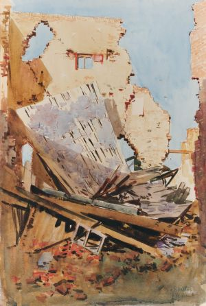 Arthur streeton the art of war at the national gallery of for Act ii salon fairfax