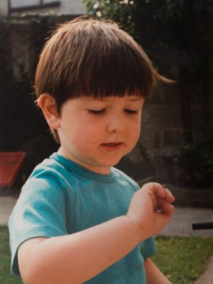 Paul as a child.