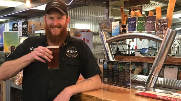 Matty Wilson's enthusiasm for good beer and community spirit is infectious.