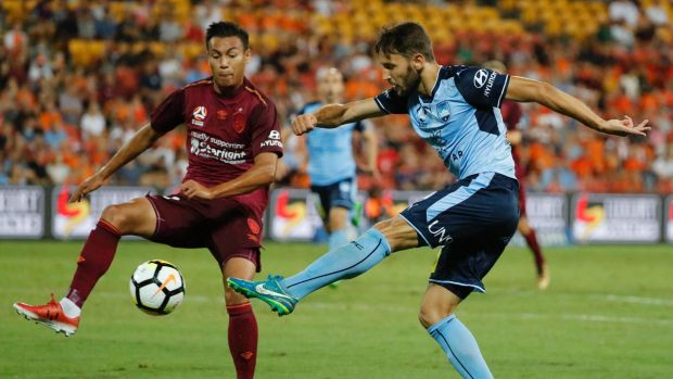 Class act: Milos Ninkovic has been a cultured presence for Sydney FC this season.