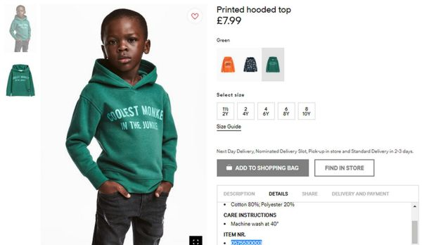 'Get over it': mother of boy in H&M racism row's response is not what you expect