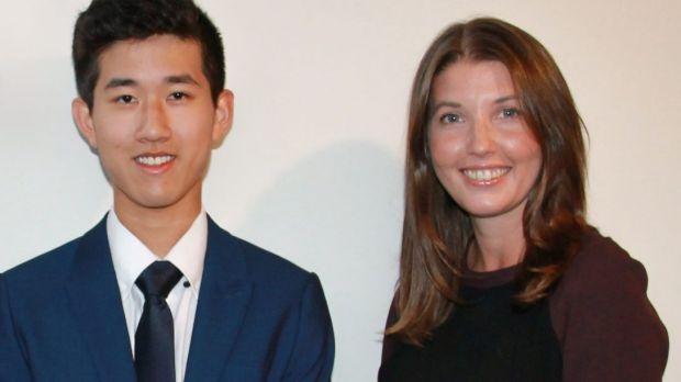 Daniel Hu received a job offer at Colin Biggers & Paisley after his article was published. He's pictured with talent ...