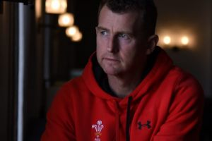 Hard-earned experience: Nigel Owens is the world's most capped referee.