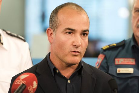 Emergency Services Minister James Merlino