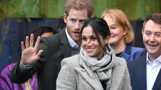 Prince Harry and Meghan Markle make first appearance together in 2018