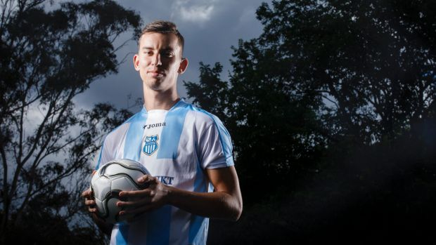 Canberra soccer export Marko Milutinovic has signed with one of Serbia's biggest clubs in OFK Belgrade.