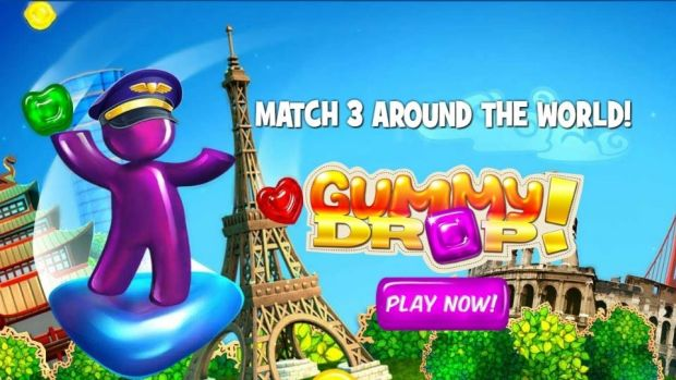 how to play gummy drop on facebook