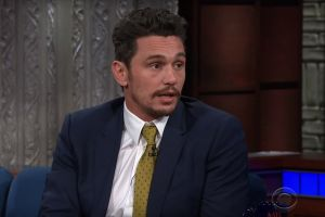James Franco addressed recent allegations of sexual harassment against him during an appearance on <i>The Late Show with ...